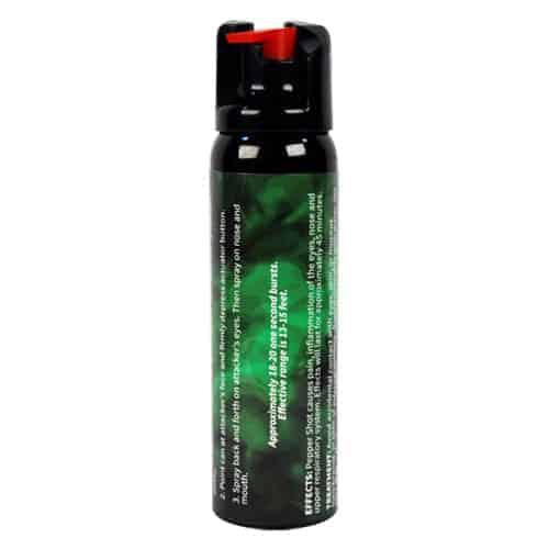 Pepper Shot 1.2% MC 4 oz Pepper Spray Stream Effects