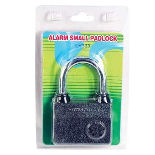 Small Alarmed Padlock Package