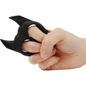 Brutus Self Defense Key Chain Black